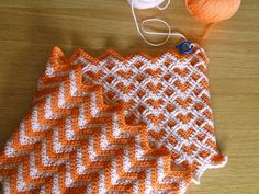Sweetheart Reversible Ripple by Lyvvie, via Flickr  on Ravelry