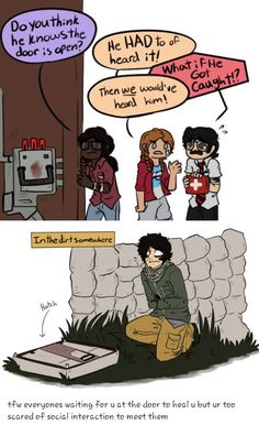 We have all done this at some point. Meg Thomas, Funny Horror, Horror Film, Jake Park, Rainbow Six Siege Art, Spooky Scary, Horror Comics, Michael Myers, Gaming Memes