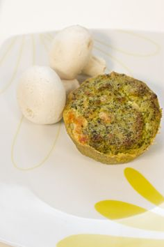 Sformato di broccoli con funghi porcini