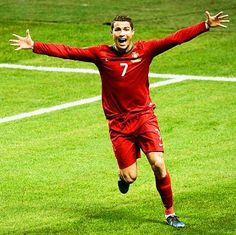 Messi: I'm happy Ronaldo will be at the World Cup. Read what Messi has to say about Cristiano Ronado. Cristiano Ronaldo Portugal, Cristiano Ronaldo 2014, World Cup Shirts, World Cup Jerseys, Cr7 Portugal, Portugal National Football Team, Fifa 2014 World Cup, Ballon D'or, Sweden