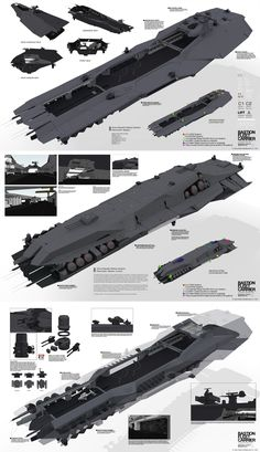 PLANETSIDE 2 Pre-Viz: BASTION FLEET CARRIER by `ukitakumuki on deviantART