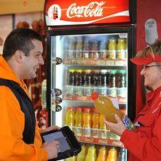 Coca-Cola HBC representative with a customer Coca Cola, This Is Us, News, Coke, Cola