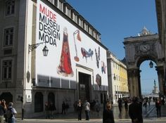 Mude Museum – Fashion/Design Museum - this place is a converted bank and has exhibitions in the old bank vault, it is amazing!! And has some gorgeous mid-century design pieces