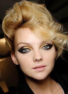 Extreem 7 beste afbeeldingen van Jaren 40 make-up - Hair Makeup, 1940s &HR56