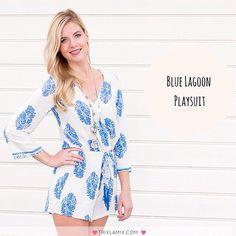 "Op zondag willen we graag comfy kleding aantrekken waarmee we er toch stylish uitzien. De ""Blue Lagoon playsuit"" voldoet aan deze 2 eisen ✔️ .  Shop op www.trixlamix.com .   #trixlamix #playsuit #jumpsuit #zondag #dutch  #outfit #ootd #ootn #inspo #fashion #fashionista #girl #musthave #style #sunday #instapic #potd #instagood #love #like #instadaily  #summer #zomer #stylist #fashiontrend #greece #blue"