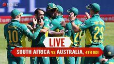 South Africa vs Australia Live Cricket Score 4th ODI - Cricket Country