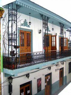Colonial architecture in Casco Viejo - Panama City's historical district.