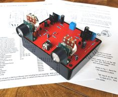 8 Transistor Stereo Amplifier