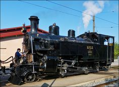 The steam locomotive B.F.D. N° 3 photographed in Blonay on May 27th, 2012.