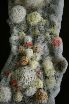 The Textured Self by Sonja Bäumel uses bacteria to demonstrate how different…