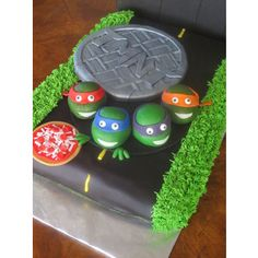 Teenage Mutant Ninja Turtles cake — Children's Birthday Cakes ...