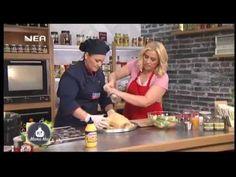Κοτόπουλο στο φούρνο με πατάτες και λαχανικά & κουνέλι γεμιστό