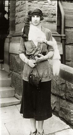 "An elegant Princess Xenia Georgievna of Russia, daughter of Grand Duke Georgiy Mikhailovich and Princess Marie  of Greece (aka ""Greek Minny""). 1920s."