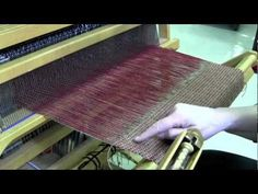 My Weaving Isn't Even! Does your weaving start smiling at you after you have been weaving for awhile? Do the edges (selvedges) start pulling in? Nancy Reid, The Woolery's resident weaver, gives you a quick tip on how to keep a nice neat fell line and tidy selvedges.