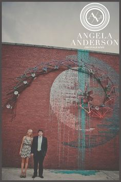Engagement photo by Amy Campbell of Angela Anderson Photography