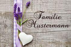 Personalisierte Fußmatte mit deinem Wunsch-Familiennamen