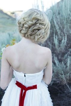Wedding Hairstyles for Long Hair and Short Hair - Wedding Hairstyle Ideas   Wedding Planning, Ideas & Etiquette   Bridal Guide Magazine