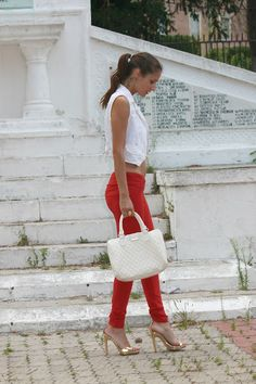 Timeless Trend – Red Pants