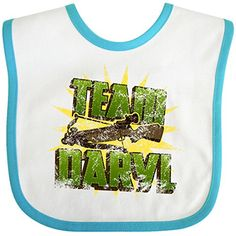 Top 99 Gift Ideas for The Walking Dead Fans | Gifts For Gamers & Geeks - Team Daryl Baby Bib