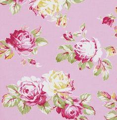 SUNSHINE ROSES by Tanya Whelan - Sunshine Roses in Pink - PWtw068 Free Spirit Fabric - Half yard by GlamFabrics on Etsy https://www.etsy.com/listing/168121538/sunshine-roses-by-tanya-whelan-sunshine