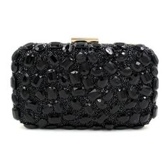 0c00b532dc81 Woman Evening Bag   Clutch Handbag Purple Stone