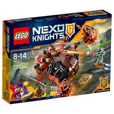 Buy LEGO Nexo Knights Moltor's Lava Smasher Online at johnlewis.com