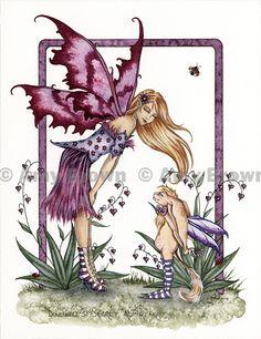 Amy Brown: Fairy Art - The Official Gallery - Dulcibelles Secret Admirer