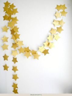 star garland, easy