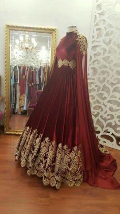 (a lot of fabric) - Urbanur Ball Dresses, Bridal Dresses, Ball Gowns, Evening Dresses, Indian Gowns, Pakistani Dresses, Indian Outfits, Stylish Dresses, Fashion Dresses