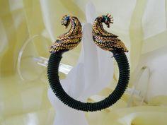 Bottle green beads with minakari elephants bracelet bangle. From Artikrti. Bangle Bracelets, Bangles, Elephant Bracelet, Bead Jewellery, Indian Bollywood, White Beads, Silver Diamonds, Gifts For Wife, Fashion Prints