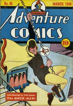 Adventure Comics #48, March 1940, cover by Bernard Bailey