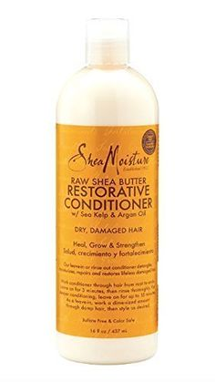 SheaMoisture Raw Shea Butter Restorative Conditioner 16 Ounce ** You can find out more details at the link of the image.