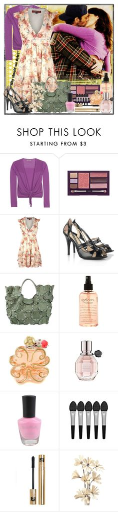 At the Gilmore's by fearlessgilmore on Polyvore featuring Dorothy Perkins, kew.159, Jerome C. Rousseau, Jamin Puech, Yves Saint Laurent, Sephora Collection, Viktor & Rolf, Lolita Lempicka, Urban Decay and philosophy