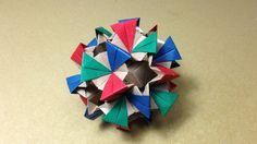 Modular Origami / Kusudama / Sonobe 30units