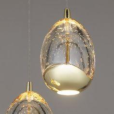 Buy John Lewis 3 Droplet LED Pendant Ceiling Light Online at johnlewis.com
