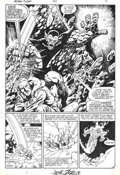 Alpha Flight #10, page 6 by John Byrne & Andy... | John Byrne Draws...