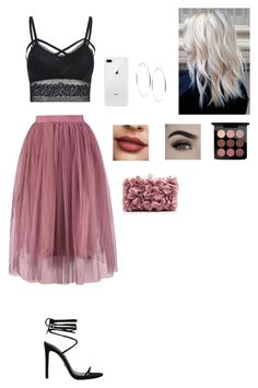 """""""Untitled #128"""" by anafasie on Polyvore featuring GUESS and MAC Cosmetics"""