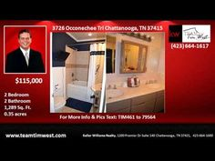 2 bedroom House for Sale in Manchester Park Subdivision Chattanooga TN - YouTube