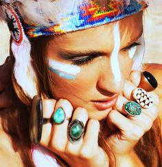 boho ♥ rings