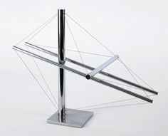 Flat Out, 1979 stainless steel 16 x 20 x 11 inches 40 x 51 x 28cm