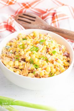 Sweet Corn Salad Sweet Corn Salad Recipe, Salad Recipes With Bacon, Corn Recipes, Healthy Salad Recipes, Side Dish Recipes, Cookout Side Dishes, Cookout Food, Dinner Dishes, Easy Vegetable Side Dishes