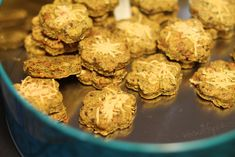 Lněné sušenky s kurkumou Food Inspiration, Stuffed Mushrooms, Muffin, Mozzarella, Cookies, Vegetables, Breakfast, Ethnic Recipes, Blog