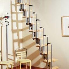 Ruimtebesparende trap atrium mini plus trap naar zolder pinterest minis - Ruimtebesparende mezzanine ...