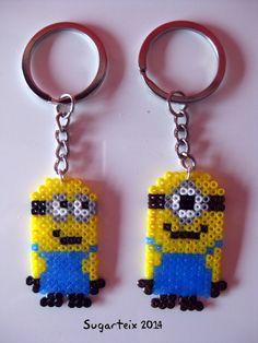 Llaveros Minions.  Si te gustan puedes adquirirlos en nuestra tienda on-line: http://www.sugarshop.eu