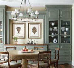 Built In Bookcases Dining Room With Buffet From Houzz