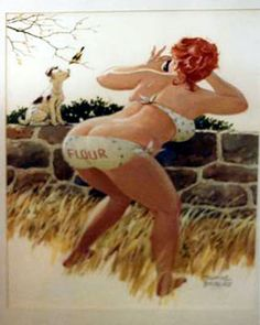 Daley Illustrations Art Gallery ~ Taking Pictures  Artist: Duane Bryers  Style: Water Color  Size: 18.50 X 23
