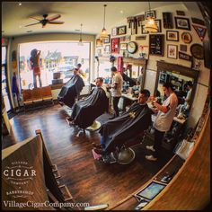 vintagebarbershop:  villagecigarcompany:  More reasons to love Saturday.Three barbers in Oakville, five in Burlington.Sports on the tube, clippers humming and premium cigars burning outside.Book your spot via our website and join in on the best way to spend your weekend. Thank You,Village Cigar Company& BarbershopBurlington & Oakville VillageCigarCompany.com #cigar #barber #BurlON #BurlONT #DTBurlON #Oakville #DTOakville #premiumcigar #handmade #walkinhumidor #cigarlife #cigarporn #b...