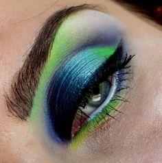 Green drama by KlauRightNow on Makeup Geek