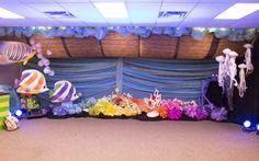 Noah's Ark decorating idea for Ocean Commotion VBS 2016