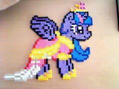 Princess Twilight Sparkle Hama Beads by HamaBeadsPonies on deviantart